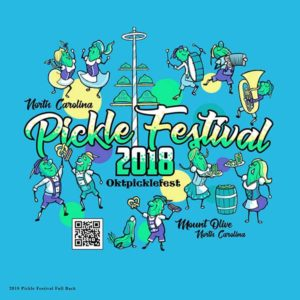 NC Pickle Festival main design